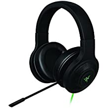 Razer Kraken USB - Over Ear USB Casque Gaming Headset, Son Surround Virtue, Casque Gamer pour PC et PS4, Noir