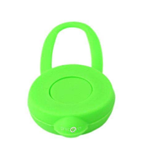 PRECORN LED Leuchtanhänger Silikon Leuchthalsband Led Hundehalsband in grün - 5