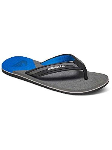 Quiksilver Molokai New Wave Sndl schwarz - blau - grau