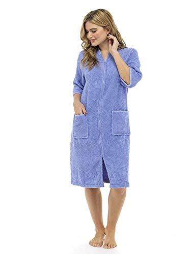 CityComfort® Toalla Mujer Botón Toalla baño Cremallera