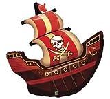 Party - Destination 160004 Pirate Ship Shape Jumbo 40