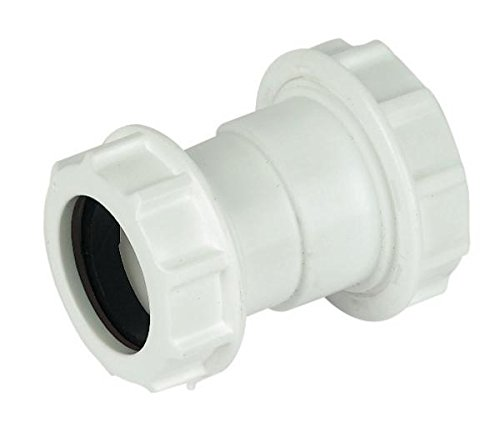 Primaflow 90014021 Compression Réducteur de déchets 40 mm x 32 mm, blanc