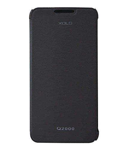 Xolo Q2000 Flip Cover - Black