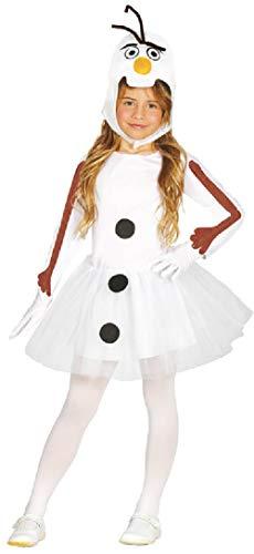Kostüm Tutu Schneemann - Fancy Me Kostüm für Mädchen, niedlich, Schneemann, Weihnachten, Noel