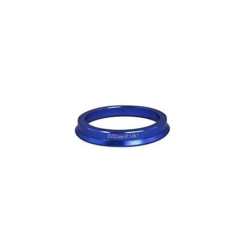 EvoCorse Bague de centrage en aluminium 67,1/56,1 mm - Kit 4 pièces