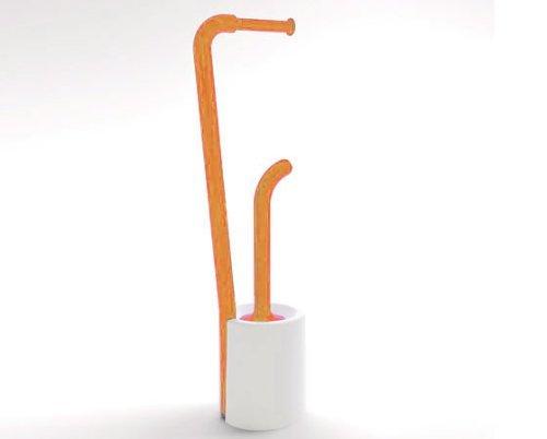 gedy-colonnina-con-portarotolo-e-portascopino-bianco-arancio-wendy-703293