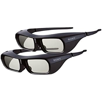 Sony BR250 3D Glasses (Pack of 2 Pairs)