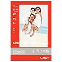 Canon GP-501 - Papel fotográfico con brillo (102 x 152 mm, 100 hojas, uso diario)