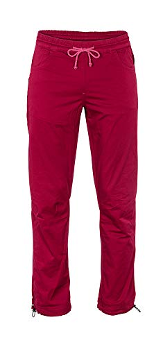 Café Kraft Damen Madonna Pants Kletterhose Boulderhose (red Plum, S)