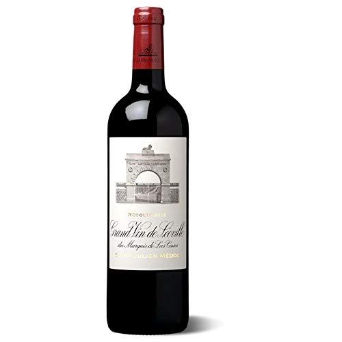 Großer Wein Leoville Las Cases Marquis - Saint-Julien 2008 - 12 x Bouteille