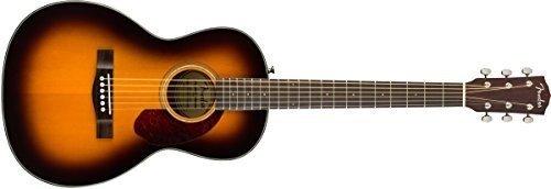 Fender cp-140se, Sunburst, Rosewood Elektroakustische Gitarre & Hard Case (Gitarren Case Für Fender Akustikgitarre)