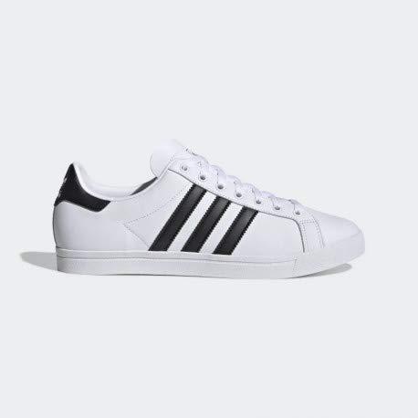 adidas Coast Star, Sneakers Basses Homme, Multicolore Core Black/FTWR White Ee8900, 43 1/3 EU