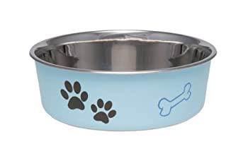 Loving Pets Bella Bol pour Chiens, Grand, Murano Bleu, 1,5 L,