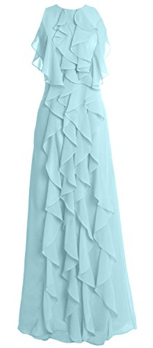 MACloth - Robe - Femme Bleu - Aqua