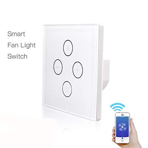 Nuevo Interruptor de la luz del Ventilador WiFi, Controlador de Velocidad del...