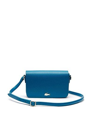 Lacoste Damen Nf1861ce Umhängetaschen, 13 x 5 x 20 cM Blue