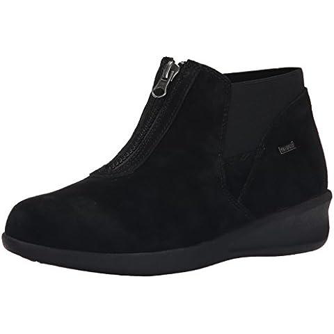 Aravon Women's Laurel-AR Boot,Black Suede,10 B