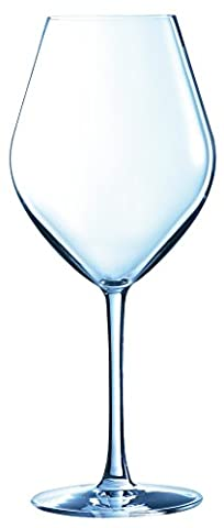 Chef & Sommelier 8011790.0 Arom Up Vin Blanc Verre à Pied Kwarx Transparent 35 cl Lot de 6
