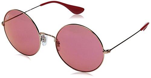 RAYBAN JUNIOR Damen Sonnenbrille Ja-Jo Shiny Copper/Pinkmirrorred 55