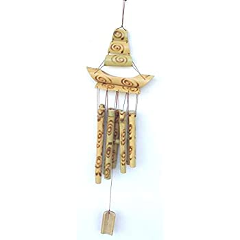 Divya Mantra Feng Shui Bamboo Wind Chime: Amazon in: Home & Kitchen