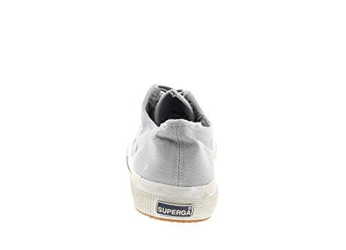 Superga 2750 Cotu Stone Wash, Chaussons Sneaker Adulte Mixte Lt Grey