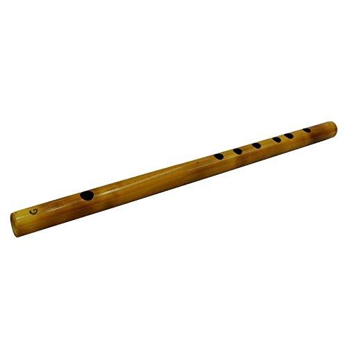 Traditional Wooden Flute Handmade Bamboo Brown Bansuri Musical Instrument Décor