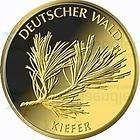 DEUTSCHLAND / GERMANY / ALLEMANGNE 20 GOLDEURO EURO GOLD 1/8 UNZE GEDENKMÜNZE SERIE DEUTSCHER WALD