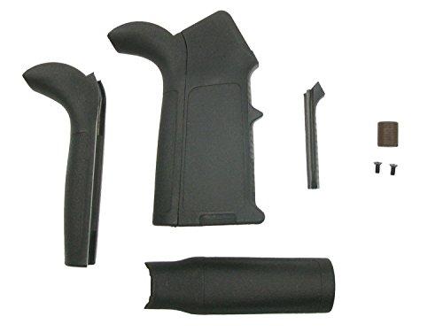Begadi Griff für Airsoft M4 / M16 (S)AEG Modelle, mit austauschbaren Griffstücken - inkl. Zubehör -
