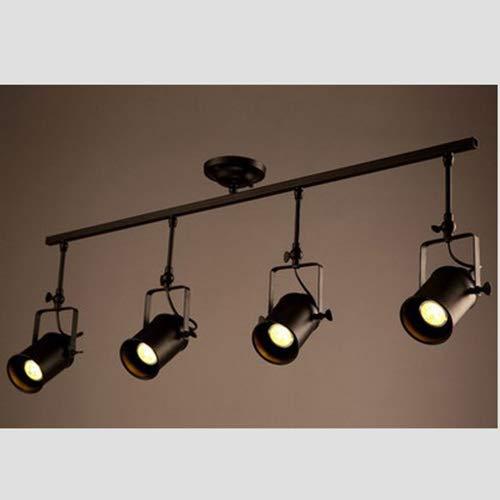 LED-BEAU Vintage Techo proyector Retro Industrial Spot de Techo ...