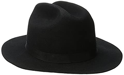 Brixton - - Unisex Adult-Coburn Fedora, Medium, Black
