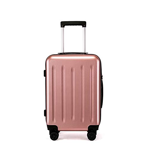 TY&GH Valise Abs Durable - Valise Trolley Durable Valise De Transport 4 Roues - Unisexe - Argent,Gold,20In