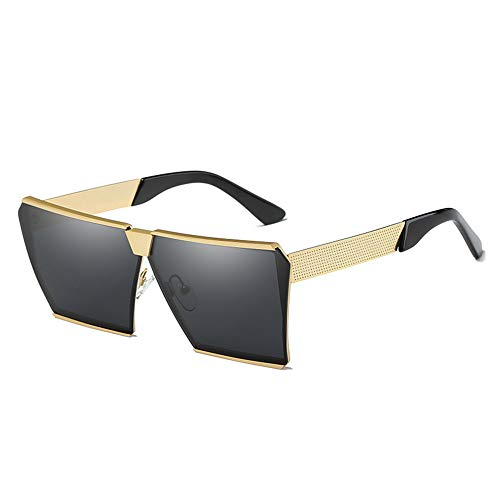 HM2 Sonnenbrillen für Männer und Frauen, polarisierte quadratische Outdoor-Sonnenbrillen 100% Uv-Schutz,D