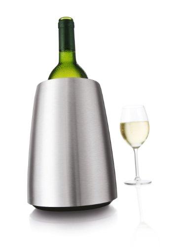 31 DFzfumuL - Vacu Vin - 3649360 - Aktiv Weinkühler Elegant Edelstahl