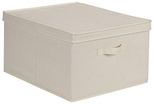 Household Essentials Jumbo Storage Box, Natural...