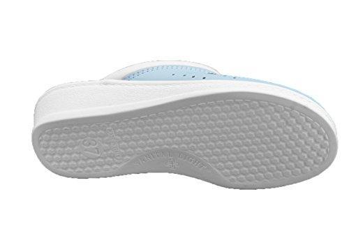 Sanital , Chaussures de ville à lacets pour homme Céleste
