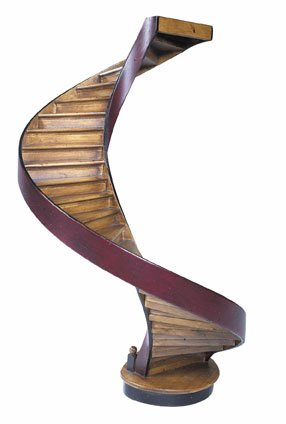 Authentic Models - Treppenmodell - Grand Staircase - Architekturmodell - AR012