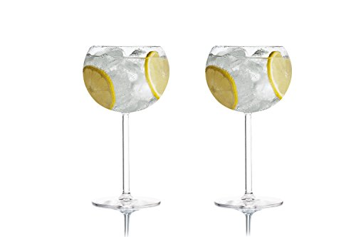 Tivoli ' Fusion ' Gin Tonic gafas / 500 ml / juego de 2 / ideal para fiestas y cócteles / diseño elegante / apto para 2 personas