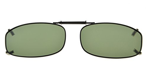 Eyekepper Metallrahmen Felge polarisierte Linse Clip auf Sonnenbrille 48x27MM G15 Linse