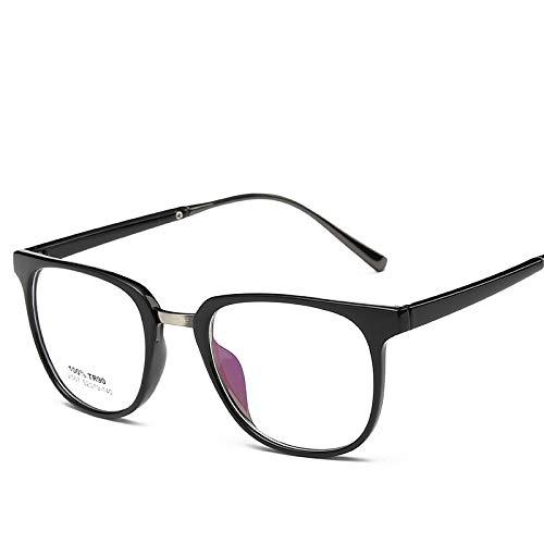 YMTP Männer Frauen Brillen Rahmen Nette Myopie Designer Optische Klare Gläser Rahmen Brillengestell, C2