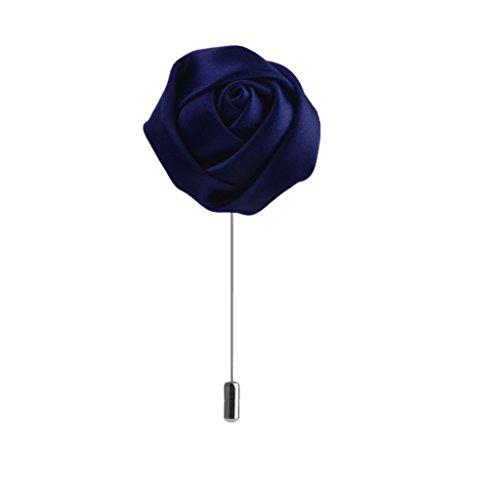spilla-allocchiello-pin-cravatta-rose-poliestere-tessuto-uomini-risvolto-blu-reale