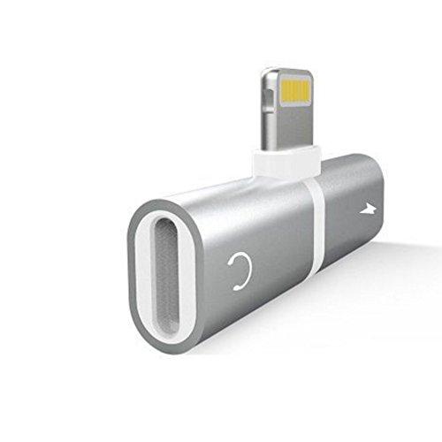 DDG EDMMS Adaptador auriculares Cargador iPhone 7