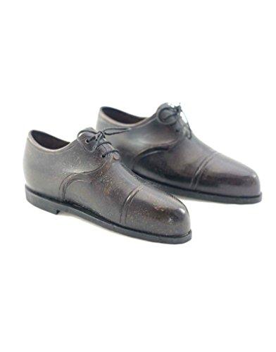 Homeline-antik (Homeline Schuhe, Metall, schwarz/braun antik, Paar (5x11))