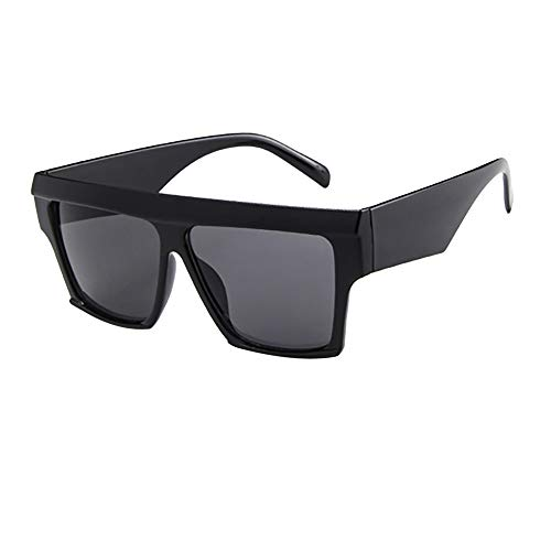 Battnot☀ Sonnenbrille für Damen Herren, Oversized Übergroße Rahmen Unisex Vintage Mode Anti-UV Gläser Sonnenbrillen Schutzbrillen Männer Frauen Retro Billig Sunglasses Women Eyewear Eyeglasses