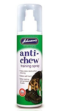 Johnsons Anti-Chew Training Spray Dog 150ml