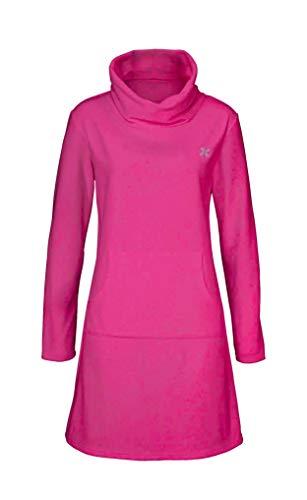 H.I.S Kleid/Fleecekleid/Freizeitkleid/Hauskleid pink (32/34)