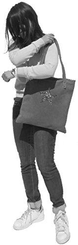 histoireDaccessoires - Borsa Pelle Donna Portata sulla Spalla - SA157233-GR-Gianni Rosso