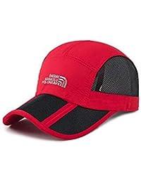 Easy Go Shopping Sombrero de los Hombres de Verano Visera Solar Gorra de  béisbol señoras de 9896292c71b