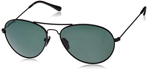 Fastrack Aviator Men\'s Sunglasses - (M135GR1P|Green Color)