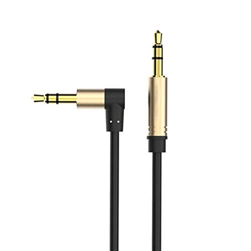 Uzinb AUX-Kabel 3,5-mm-Audiokabel 3.5 Male Hilfskabel für iPhone Auto-Stereo-Headset Laptop PC-Verstärker-Lautsprecher-Kabel (Stereo-lautsprecherkabel Auto)