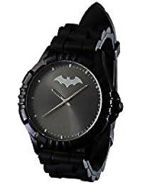 c89b09605018 DC Comics Batman-Reloj para Hombre Pulsera Negro